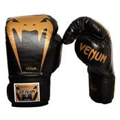 Luva De Boxe Venum Giant Brasil 14Oz Preto/Dourado