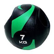 Bola Medicinal Com Pegada Liveup Sports Ls3007a/7 7Kg Preta E Verde