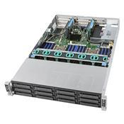 Sistema Para Servidor Intel R2312wftzs Rack 2U Placa S2600wft Fonte 1300W