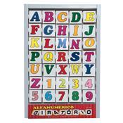 Alfanumérico Giratório Carlu Animais Colorido 35 Peças