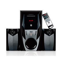 Speaker 2.1 Bluetooth E Rádio 44W Rms Sp-365B Bk C3 Tech