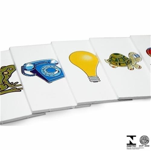 Brinquedo Pedagógico Cartas Para Ditado Em Eva 350 Carlu