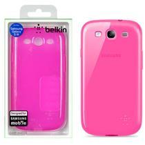 Capa Para Celular Galaxy S3 Rosa F8m398ttc02 Belkin