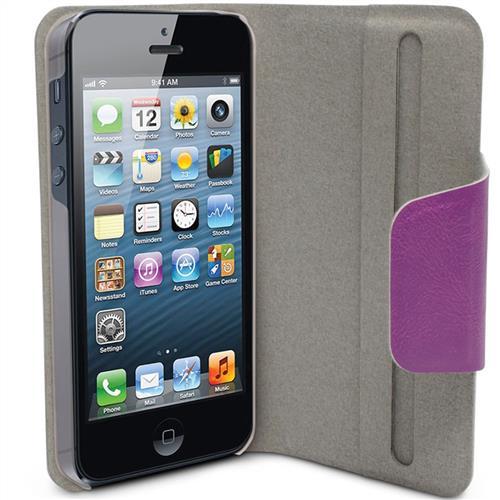 Capa Para Iphone 5 Com Cover Em Couro 609361 Maxprint