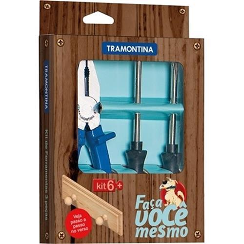 Kit De Ferramentas 3 Pçs 43408425 Tramontina