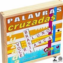 Jogo Educativo Palavras Cruzadas Carlu Brinquedos