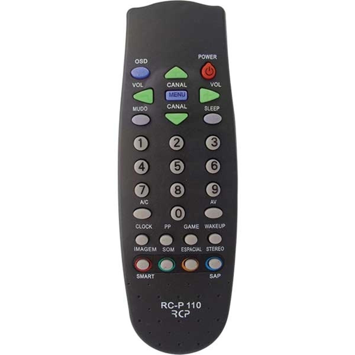 Controle Tv Rc110 Rc058 Philips