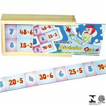 Jogo Educativo da Memória para Ensinar Matemática 1035 Carlu Brinquedos