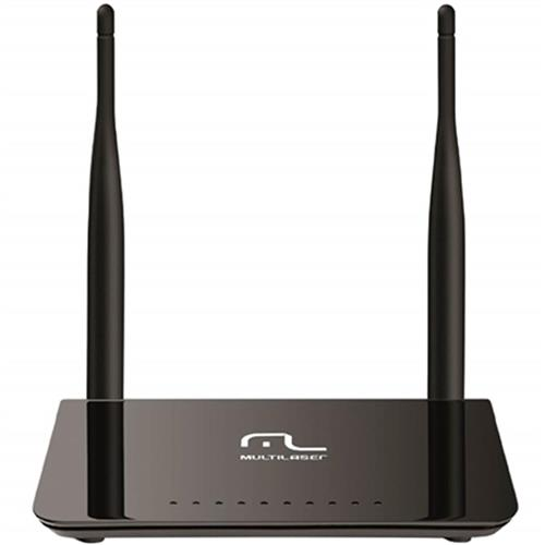 Roteador Wireless 600 Mbps Preto 2 Antenas Re075 Multilaser