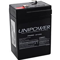 Bateria Estacionária Selada 6V 4.5Ah Up645seg Unipower