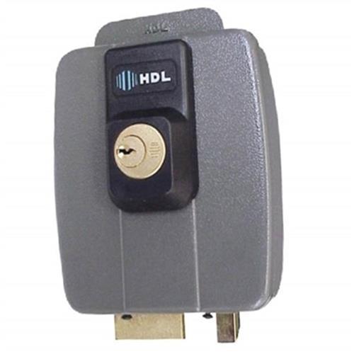 Fechadura Dupla Para Portão Elétrico Cinza C-90 HDL