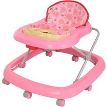 Andador Musical Toy Carinhoso Rosa Menina Tutti Baby