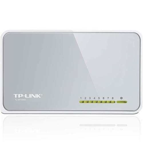 Switch De Mesa 8 Portas De 10-100Mbps Tl-Sf1008d Tp-Link