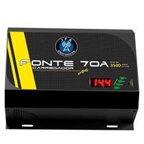 Fonte Carregador Bateria Automotiva Turbo 70A 22554 Jfa