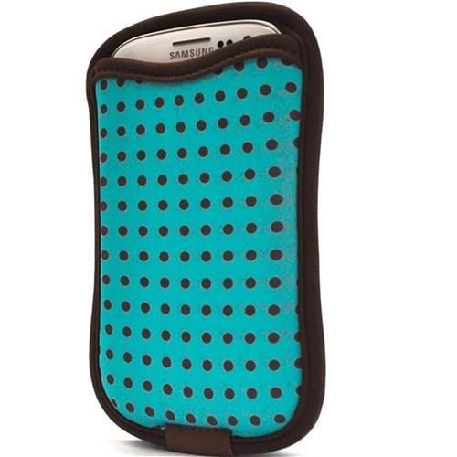 Case Para Galaxy S3 S4 Com Porta Cartão Esmeralda Reliza