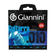 Encordoamento Para Guitarra 010-046 GEEGST10 Giannini