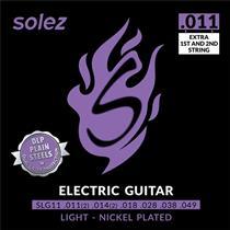 Encordoamento Guitarra DLP Calibre 0.011 SLG11 Solez