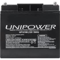 Bateria De Chumbo Ácida Selada 12V 18A Up12180 Unipower