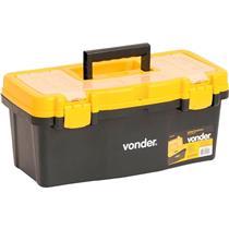 Caixa De Ferramentas Diversas Preta E Amarela Cpv0405 Vonder