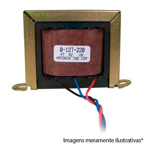 Transformador 220Ma 2.64Va 6+6Vac 127-220Vac 6-400 Hayonik