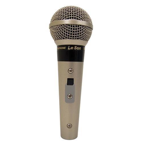 Microfone Profissional Xlr 3 Pinos Cardióide Sm58p4s Leson