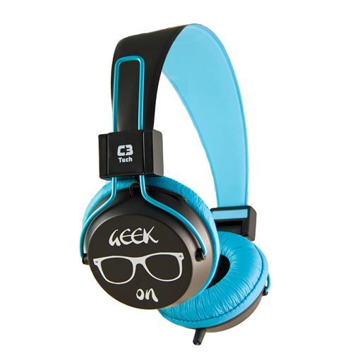 Fone de Ouvido Headset P2 1,2 Metros MI-2358RL C3 Tech