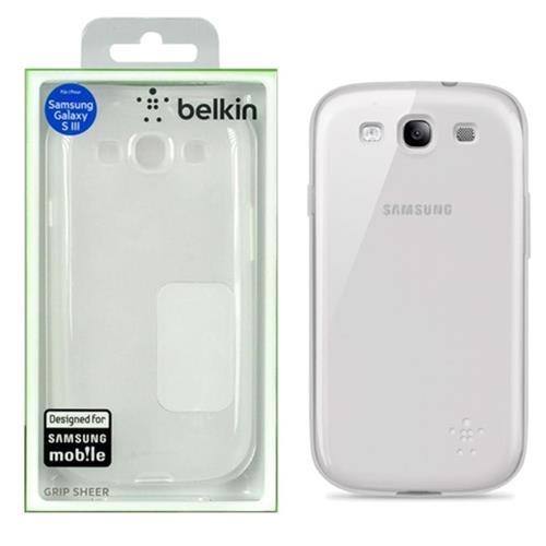 Capa Samsung Galaxy SIII Branco F8M398TTC05 Belkin