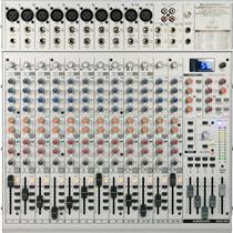 Mesa De Som E Mixer Usb Eurorack Pro UB2442FX Behringer