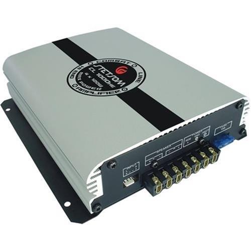 Modulo De Potencia 3 Canais 220W Rms Booster Cl950he Stetsom