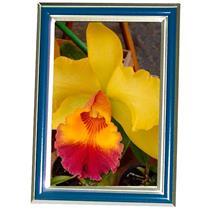 Porta Retrato Com Moldura Azul 13 X 18 Cm 1288 Lavie