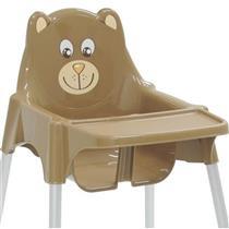 Cadeira De Refeição Teddy Alta Marrom 92370109 Tramontina