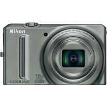 Câmera Digital 12.1Mp Coolpix Prata S9100 Nikon