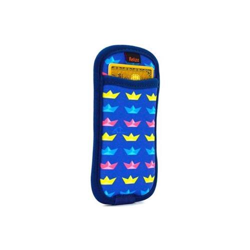 Case Para Iphone5 Com Porta Cartão Boats Reliza