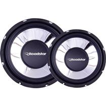 Subwoofer 10 Polegas 4 Ohms 250W Rms Rs1053br Roadstar