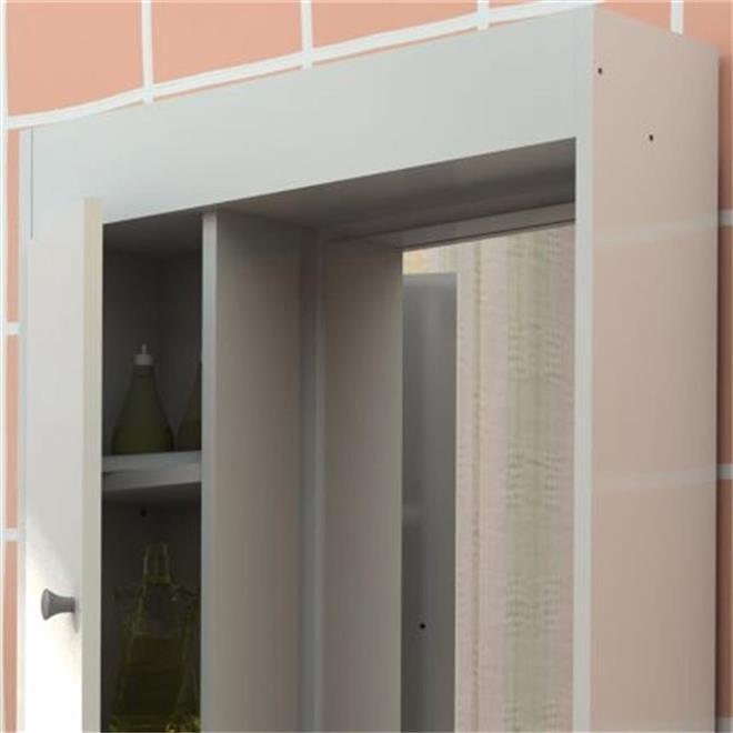 Armário Aéreo Branco Para Banheiro Politorno  Politorno -> Armario Aero Banheiro