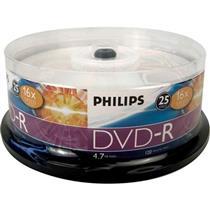 Midia Dvd-R 16X 4.7Gb 120Min Com 25 Unidades Philips