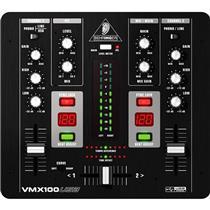 Mixer Dj Interface Usb 2 Canais Rca Preto Behringer