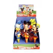 Caixa Com 12 Canetas Mickey, Donald E Pateta 0621249 Bip