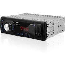 Auto Rádio Automotivo Max Com Leitor Usb Sd P2 P3208 Multilaser