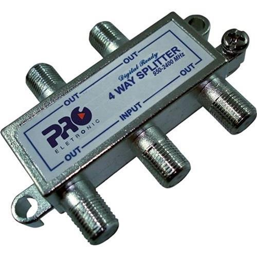 Divisor Satélite 14 5-2400 Mhz Pqdv-2024 Proeletronic
