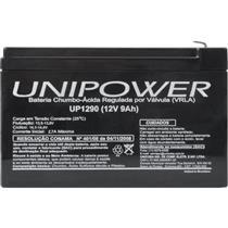 Bateria De Chumbo Ácida Seleda 12V 9A Up1290 Unipower