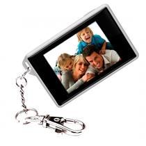 Mini Chaveiro Porta Retratos Digital 1.8'' Branco Dp180 Coby