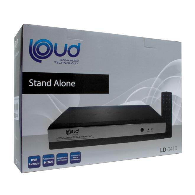 dvr stand alone 4 canais ld0410 loud loud. Black Bedroom Furniture Sets. Home Design Ideas