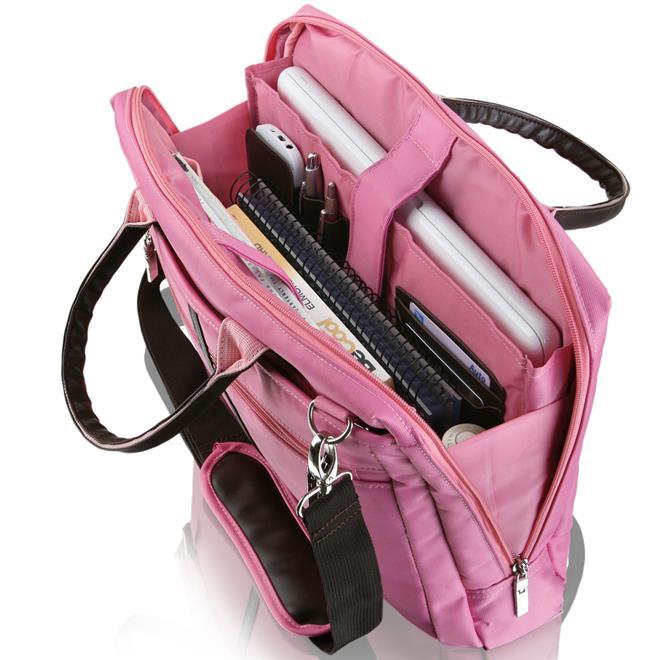 Bolsa De Ombro Para Notebook : Bolsa para notebook rosa bo multilaser