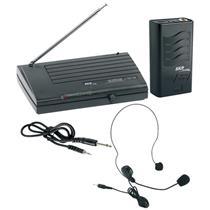 Microfone Sem Fio Auricular Vhf855 Skp