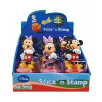Caixa Display Com Adesivos E Carimbos Mickey E Minnie 0621256 Bip