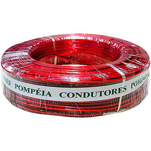 Cordão Cristal 2X Vd 1.50Mm Vermelho 100 Metros - Pompéia