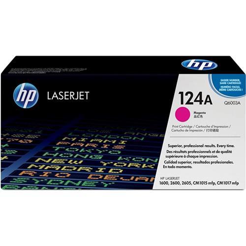 Cartucho de Toner Laserjet Color Magenta Hp 124a Q6003AB HP