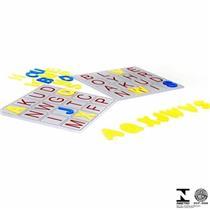 Jogo Educativo Alfabeto Bingo Carlu Brinquedos