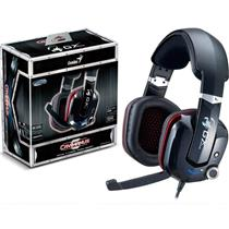 Headset Gamer Hs-G700v Cavimanus 7.1Ch Virtual Usb Genius